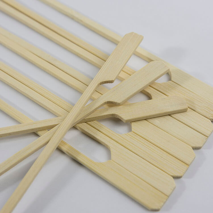 9cm teppo skewers white cover