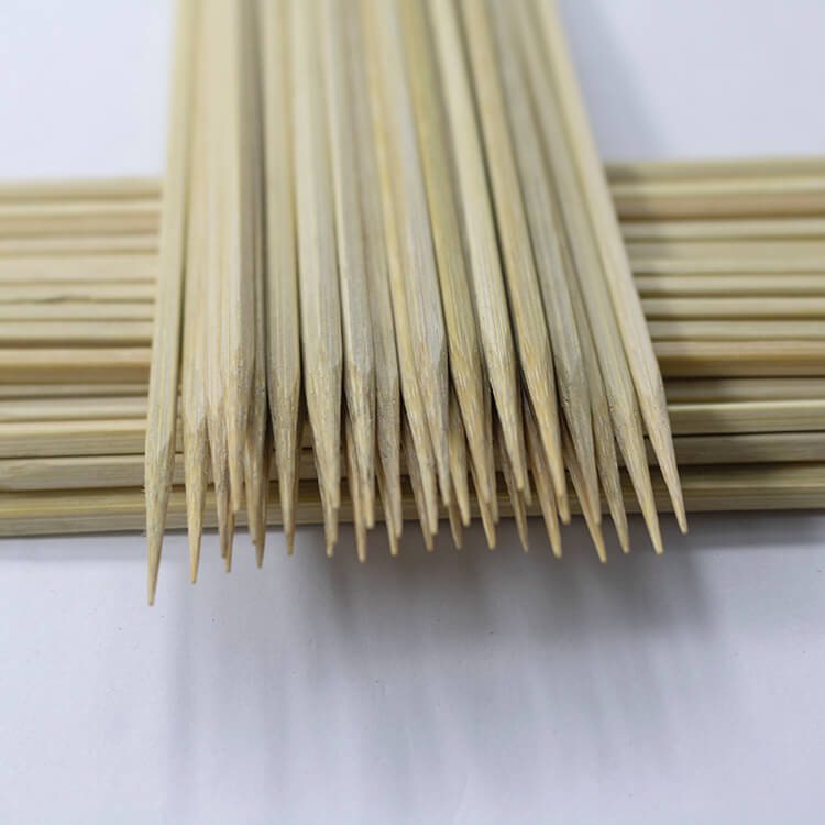 22cm bamboo squre skewers