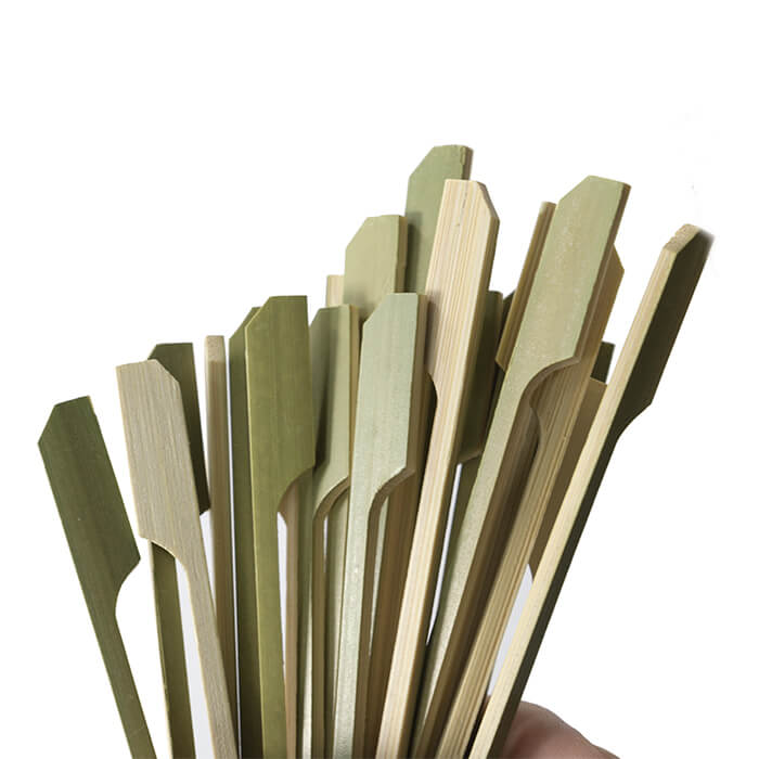 18cm teppo skewers green cover