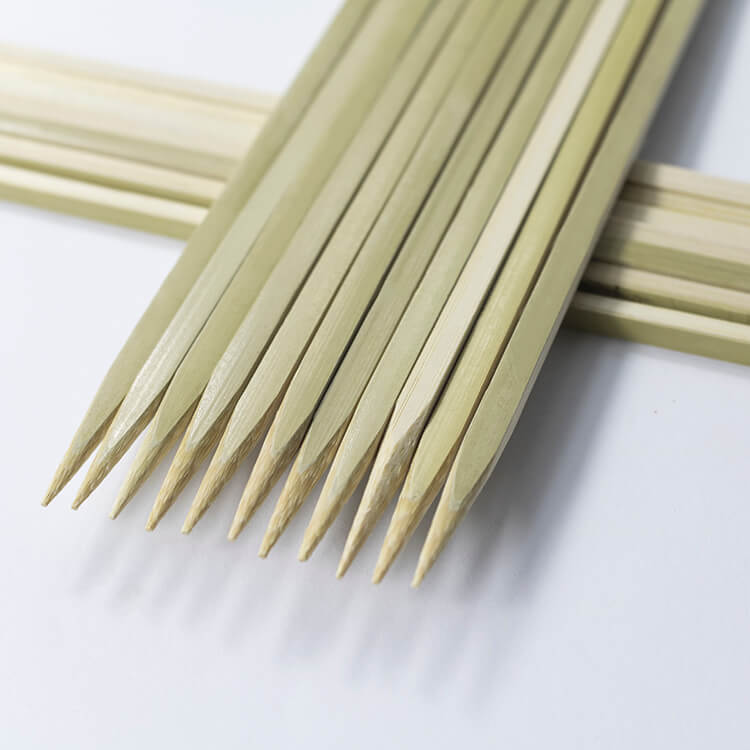 15cm bamboo squre skewers