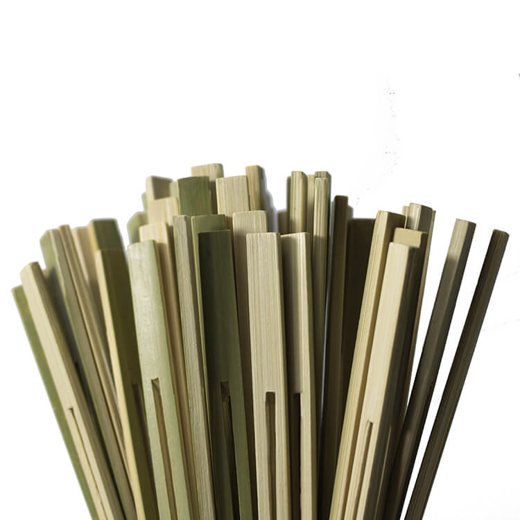 18cm bamboo double prong bbq skewers