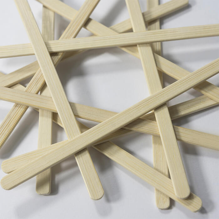9cm bamboo coffee stirrers