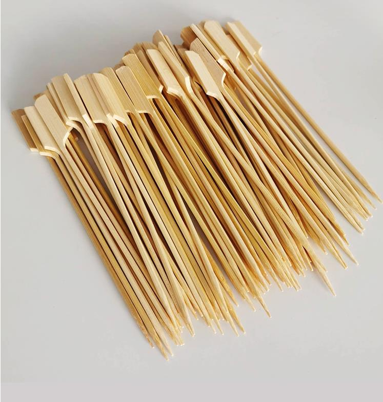 Bamboo barbeque skewers